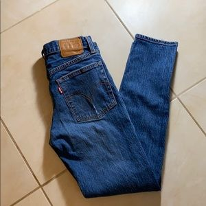 Levi's Wedgie Jeans Size 24 Button Fly